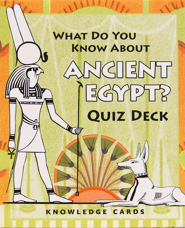 What do you know about ancient Egypt? Quiz deck kort