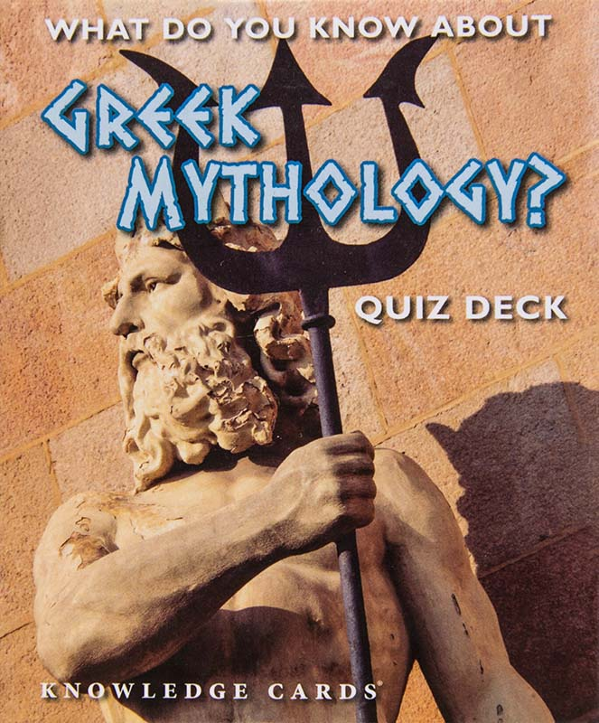 What do you know about Greek Mythology? Quiz deck. Kort