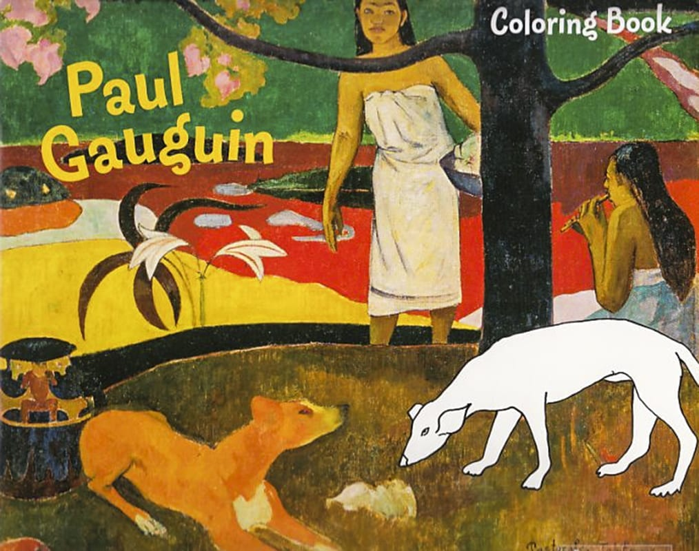 Paul Gauguin malebog coloring book