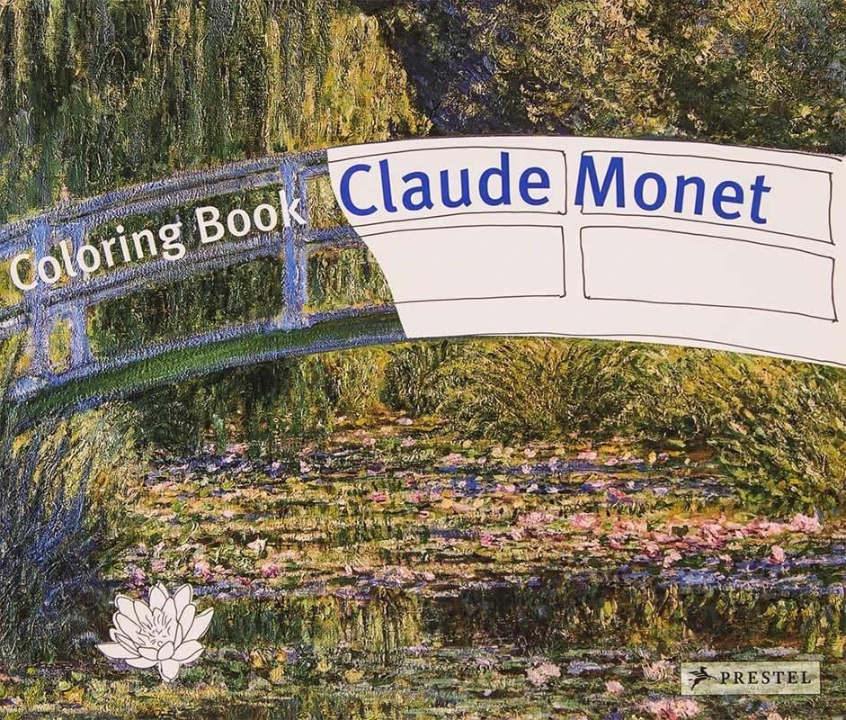 Claude Monet malebog coloring book