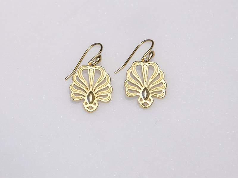 Palmette øreringe Glyptoteket earrings