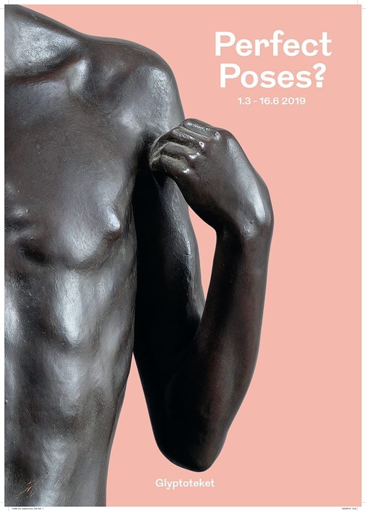 Perfect poses plakat bronze poster