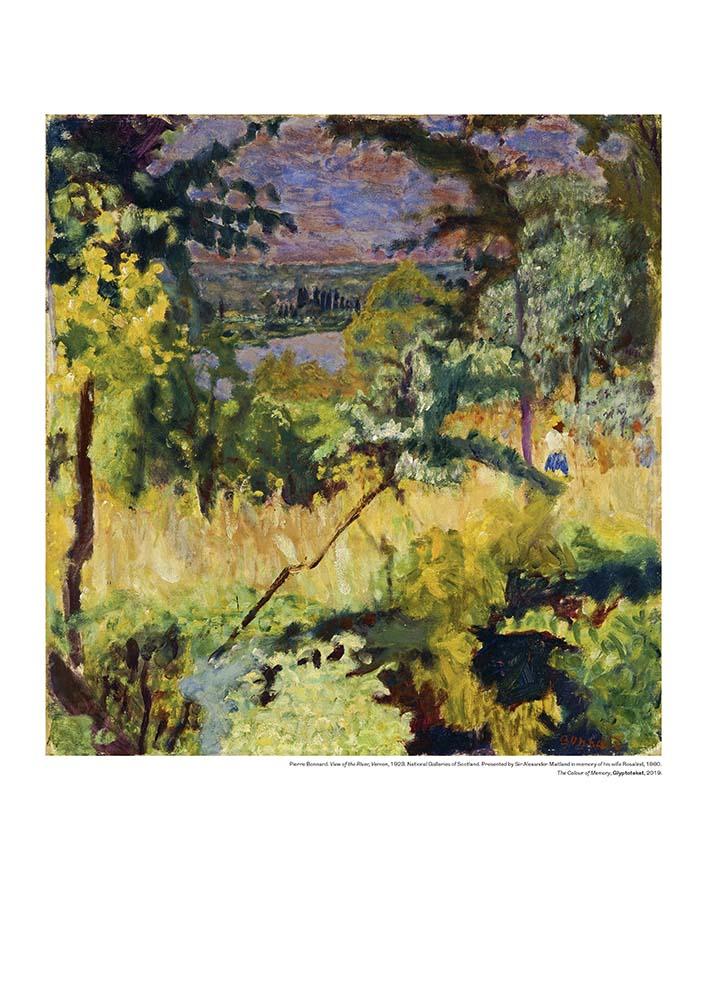Pierre Bonnard plakat View of the River