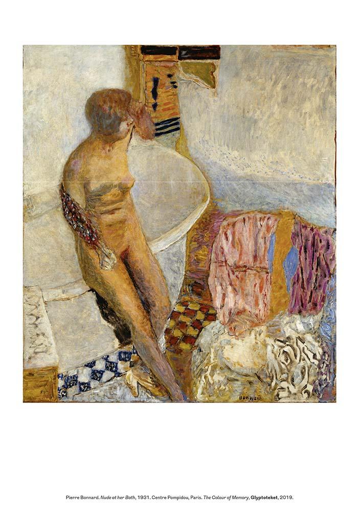 Pierre Bonnard print Nude at Her Bath