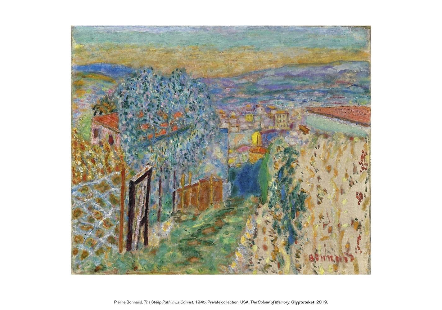 Pierre Bonnard print The Steep Path