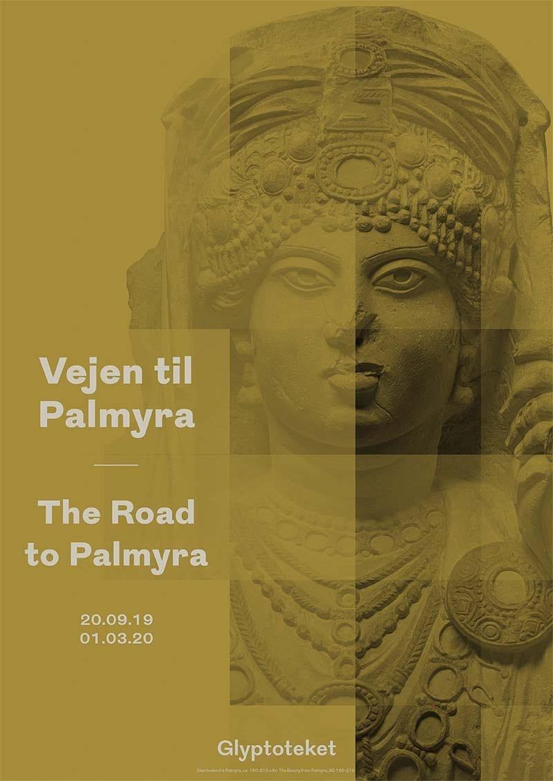 Palmyra udstillingsplakat poster
