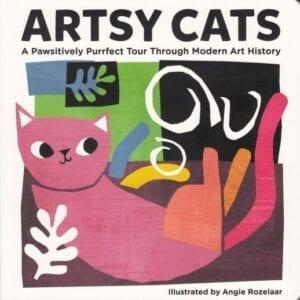 Artsy Cat bog board book