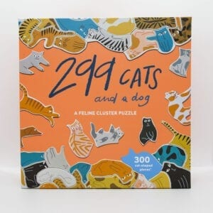 299 Cats puslespil puzzle