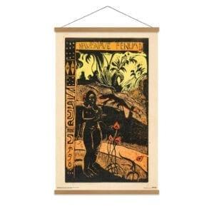 Gauguin canvas print dejligt land
