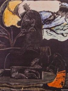 Gauguin print Noa Noa Glyptoteket