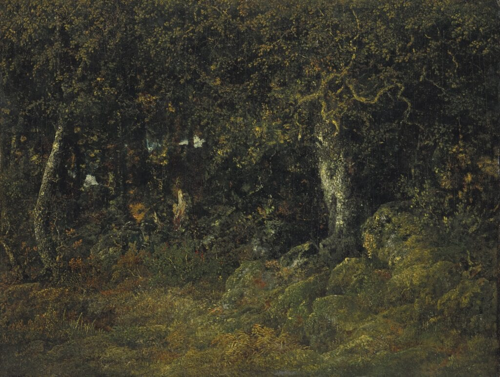Theodore Rousseau The Rock Oak på Ny Carlsberg Glyptotek
