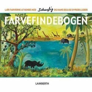 Farvefindebogen Scherfig børnebog Glyptoteket
