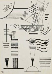 Kandinsky composition 4 plakat poster