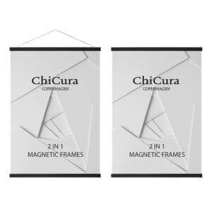 Chicura magnetramme plakatramme Glyptoteket