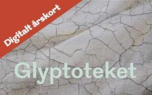 årskort med ledsager gave Glyptoteket